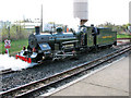 TG3018 : 'Spitfire' on the Bure Valley Railway at Wroxham station by Evelyn Simak