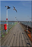 SU4208 : Hythe Pier, Hampshire by Peter Trimming