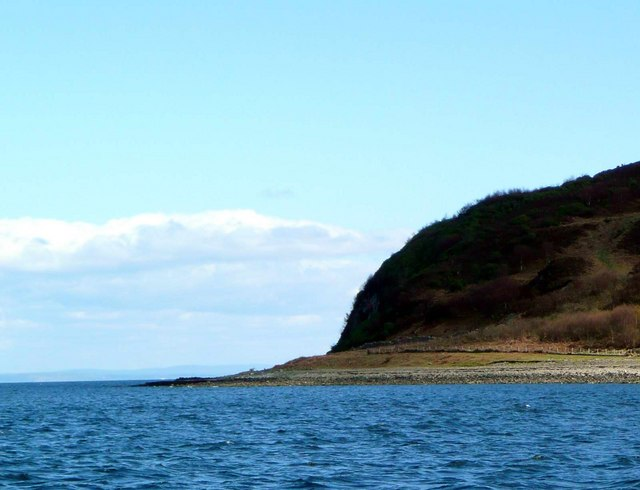 North end of Holy Isle