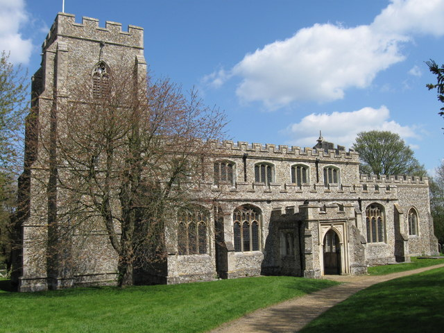 The parish church of St Mary & St Clement, Clavering, Essex