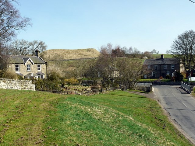 Elsdon Village, north part