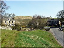 NY9393 : Elsdon Village, north part by Andrew Curtis