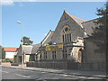 TQ2168 : Christ Church, New Malden: west end by Stephen Craven