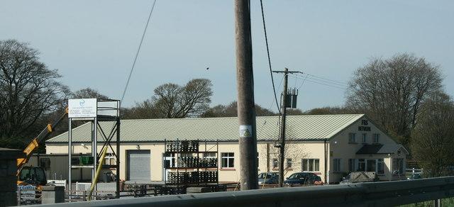 An industrial building near Roscrea, County Tipperary