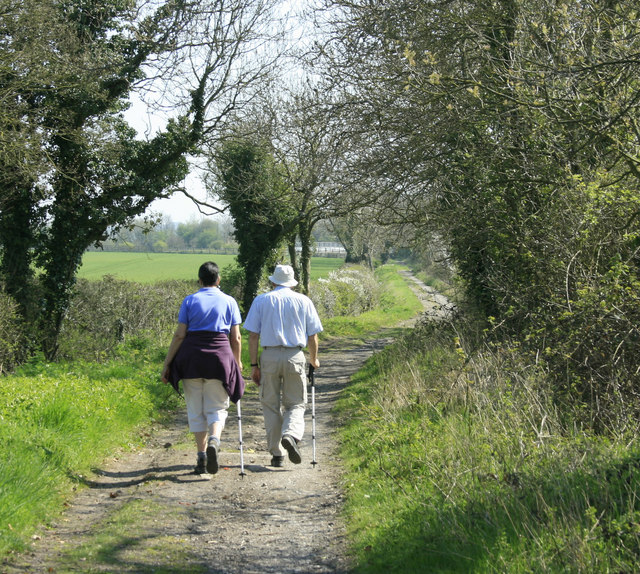 2010 : Walking Burbarrow Lane