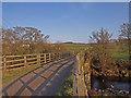 NY7988 : Small Road Bridge by wfmillar