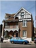 TQ7407 : House in Wilton Road by Paul Gillett