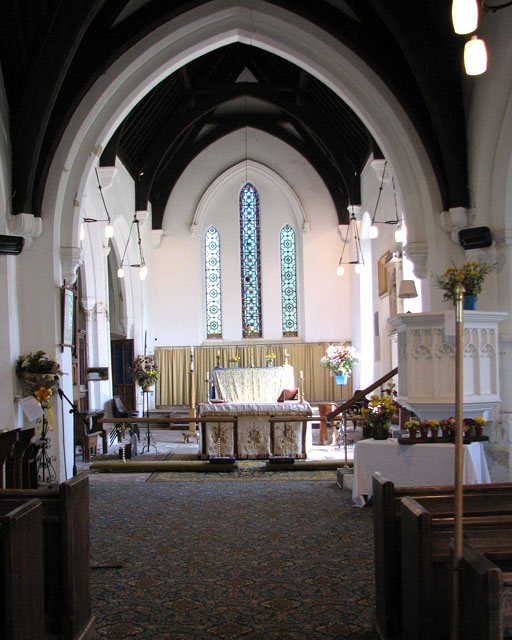 St Lawrence's church in Tilney St Lawrence - the chancel