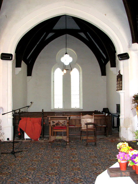 St Lawrence's church in Tilney St Lawrence - north chapel