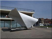 TQ7407 : Bandstand outside De La Warr Pavilion by Paul Gillett