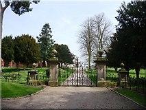 SK1820 : Gateway to Dunstall Hall by Christine Johnstone