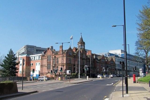 Sheffield Children's Hospital, Western Bank, Sheffield - 1
