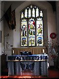 TF5002 : St Peter's church - south aisle chapel by Evelyn Simak