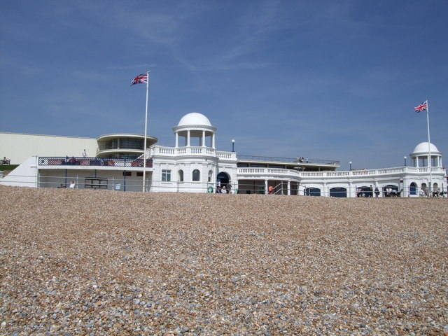 View from Bexhill Beach