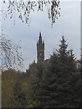 NS5666 : Gothic tower on Gilmorehill by James Allan