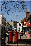 SU4208 : High Street, Hythe, Hampshire by Peter Trimming