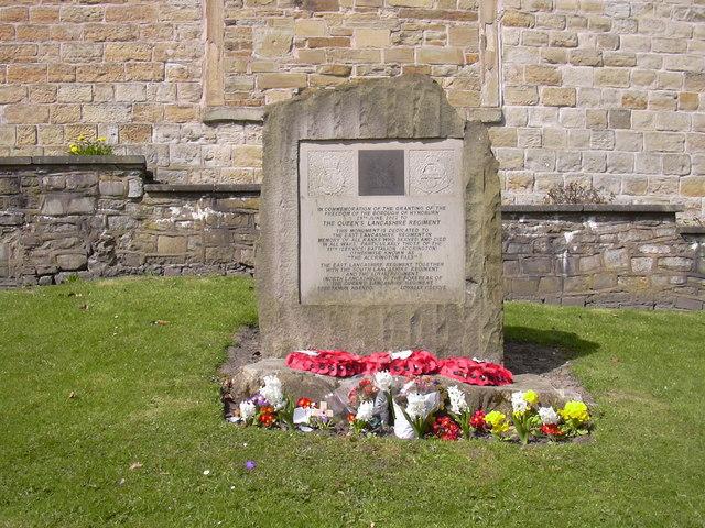 """""""The Accrington Pals"""" Monument, Accrington Parish Church"""