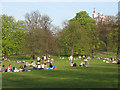 TQ3877 : A sunny day in Greenwich Park by Stephen Craven