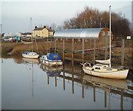TA0623 : Moorings at Barrow Haven by David Wright