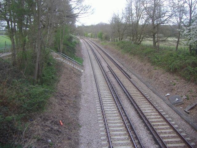 Railway lines, Oxshott
