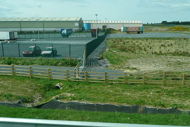 Industrial area at Rathpatrick