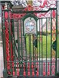 SD3128 : Gate at Ashton Gardens by Shazz