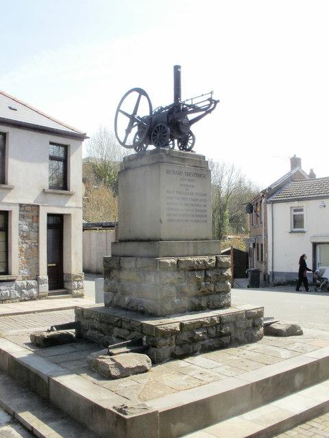Trevithick Monument, Merthyr Tydfil