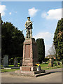 TF4710 : War memorial in the churchyard of All Saints, Walsoken by Evelyn Simak