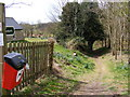TM4560 : Footpath to the B1122 Aldeburgh Road by Geographer