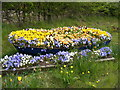 TM4562 : Floral Display on Lover's Lane by Adrian Cable