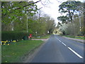 TM4460 : B1121 Aldeburgh Road & Fitche's Lane, Postbox by Adrian Cable