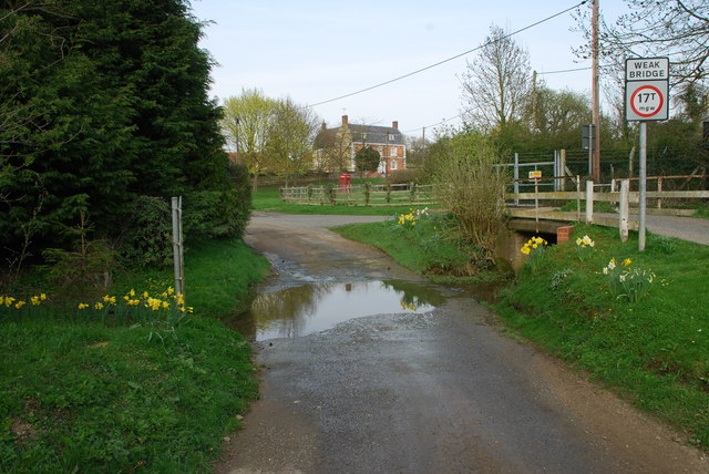 Ford and Road Bridge at Aslackby