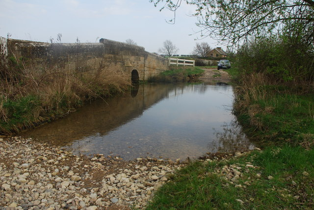 Spur Bridge Ford, Aunby
