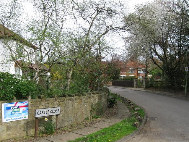 Castle Close, Middleton St George