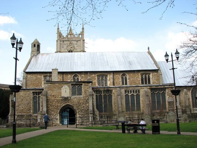 The church of SS Peter and Paul in Wisbech