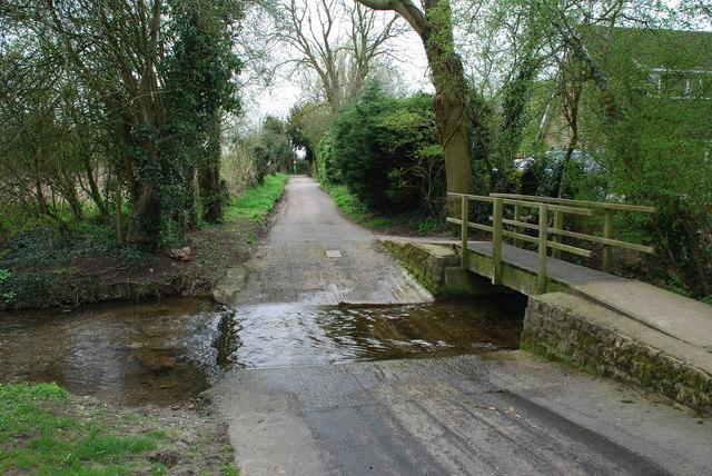 Ford and Footbridge at Beck Lane Dunholme