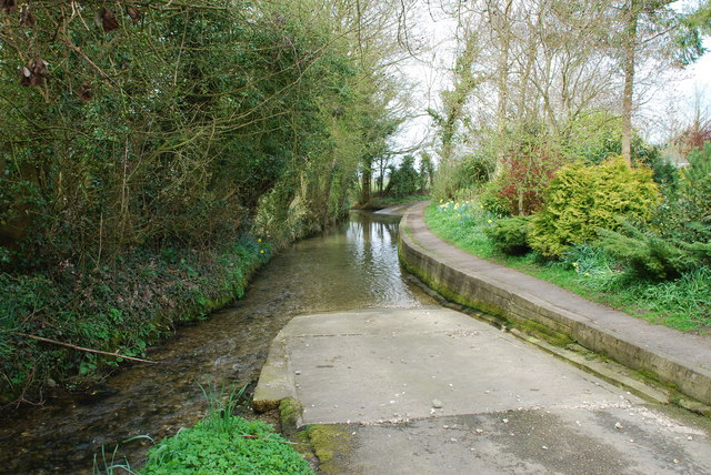 Long Ford at Tealby Thorpe with Footpath