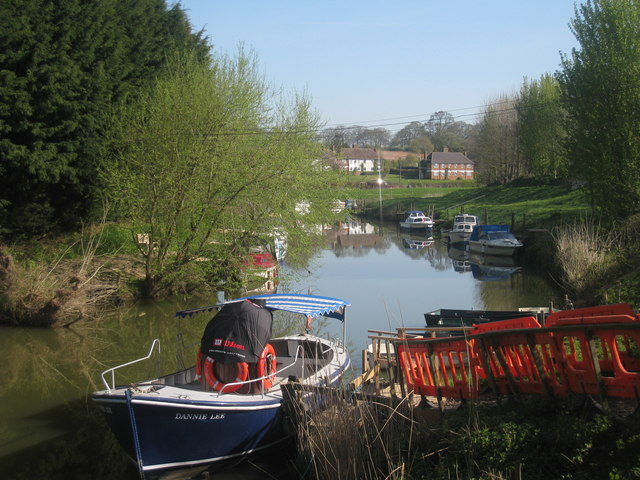 Boats on River Rother