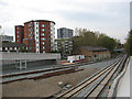 TQ3578 : New track layout at Deptford Road Junction by Stephen Craven
