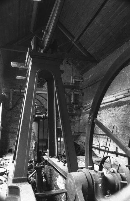 E & W C French Ltd, tannery, steam engine.