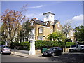 TQ2678 : Town house in Gilston Road, Chelsea by PAUL FARMER