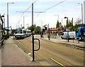 SJ8098 : Langworthy Tram Stop by Gerald England