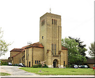 TQ1372 : St Augustine of Canterbury, Hospital Bridge Road, Whitten, London TW2 6DE by John Salmon