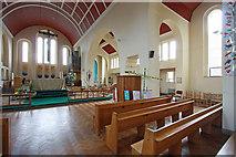 TQ1372 : St Augustine of Canterbury, Hospital Bridge Road, Whitten, London TW2 6DE - East end by John Salmon