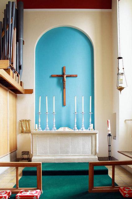 St Augustine of Canterbury, Hospital Bridge Road, Whitten, London TW2 6DE - South chapel