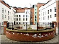 NZ2563 : New apartments, Half Moon Lane, Gateshead by Andrew Curtis