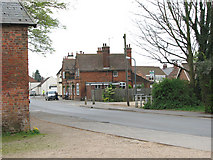 TF5520 : View south along Churchgate Way, Terrington St Clement by Evelyn Simak