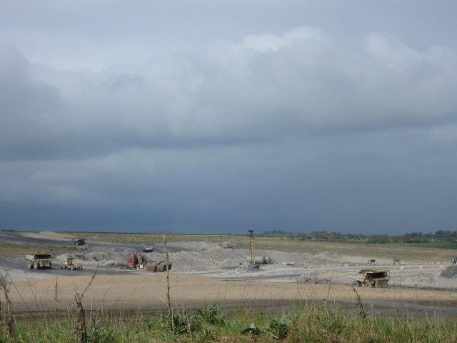 Opencast Coal Mine, Stobswood