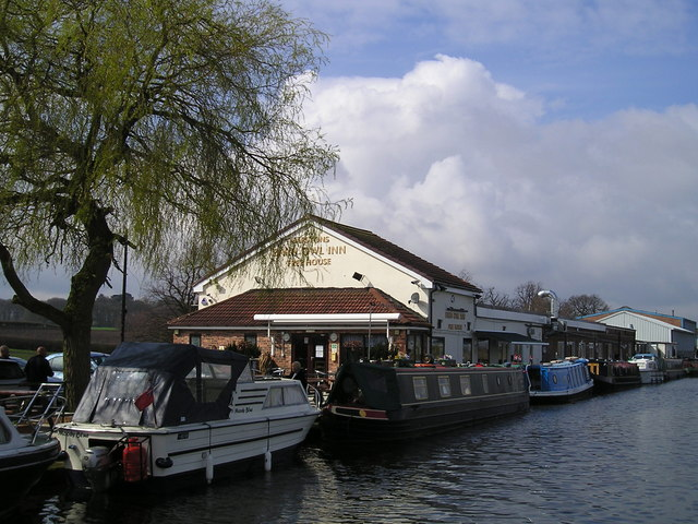 The Barn Owl Inn Pub, Agden Wharf, Lymm ...