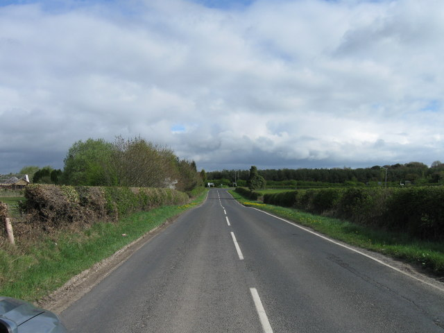 B1337, to Stobswood